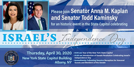 Celebrate Israel's Independence Day w/Senators Kaplan & Kaminsky tickets