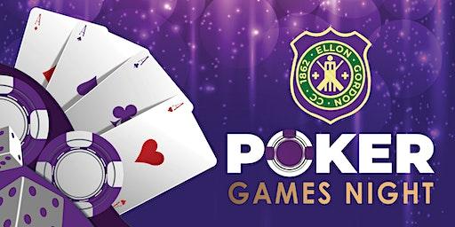 Ellon Gordon Cricket Poker Night