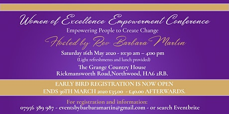 Women of Excellence Empowerment Conference tickets