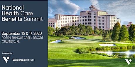 National Health Care Benefits Summit - Orlando | EXHIBITING & SPONSORSHIPS tickets