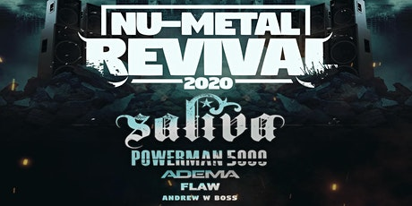 Saliva: Nu Metal Revival Tour tickets