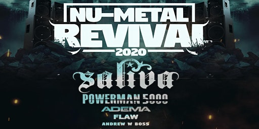 Saliva: Nu Metal Revival Tour