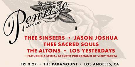 Thee Sinseers, Jason Joshua, Los Yesterdays, Thee Sacred Souls, The Altons tickets