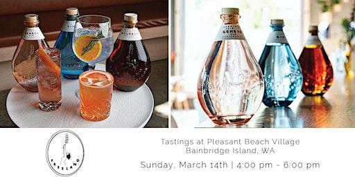 Freeland Spirits Tasting - Pleasant Beach Village