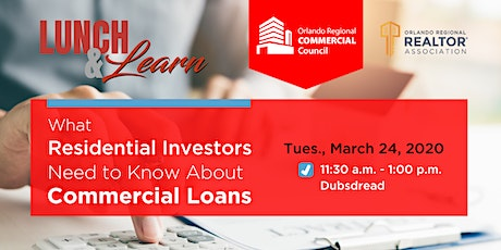 Commercial Council Lunch & Learn - Commercial Loans tickets