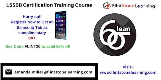 LSSBB Certification Classroom Training in North Battleford, SK