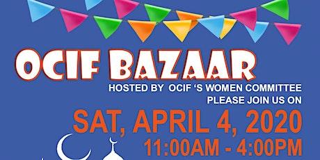 OCIF Annual Bazaar tickets