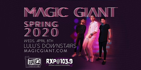 CANCELLED - Magic Giant with The Collection tickets