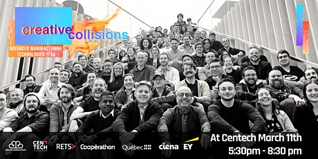 Creative Collision |5G & Advanced Manufacturing Technologies tickets
