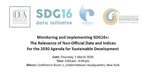 Monitoring and Implementing SDG16+