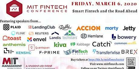 MIT FinTech Conference 2020 tickets