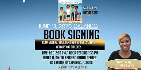Book Signing, Reading and Character Goal Setting Activity for Children tickets