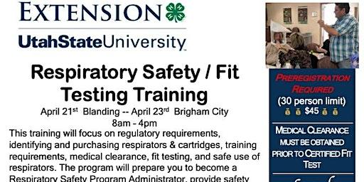 2020 UT Respiratory Safety & Fit Testing Training, Brigham City