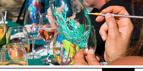 Spring Wine Glass Painting Class tickets