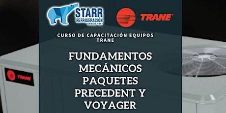 FUNDAMENTOS MECÁNICOS DE PAQUETES PROCEDENT Y VOYAGER tickets