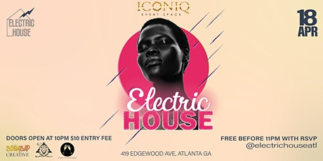 ElectricHouse - House Music / Afrobeats / Hip-Hop / Funk Dance Party tickets