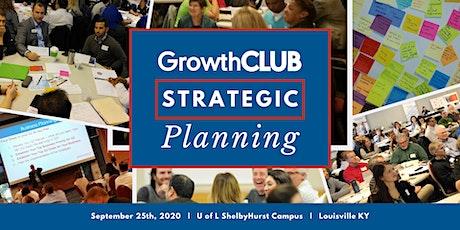 GrowthCLUB: Strategic Planning Workshop tickets