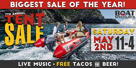 7th Annual Tent Sale tickets