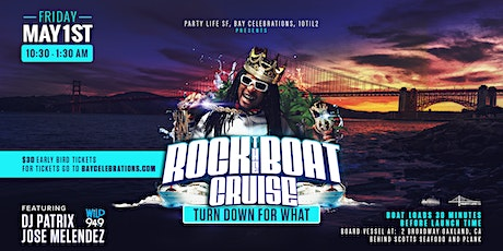 ROCK THE BOAT PARTY CRUISE WITH JOSE MELENDEZ & PATRIX  tickets