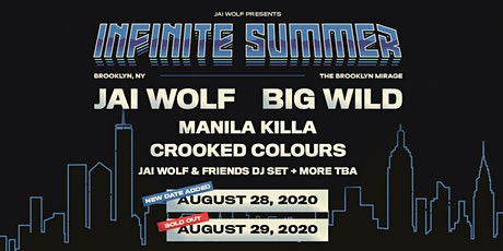 Jai Wolf & Big Wild – Infinite Summer – Second Show tickets