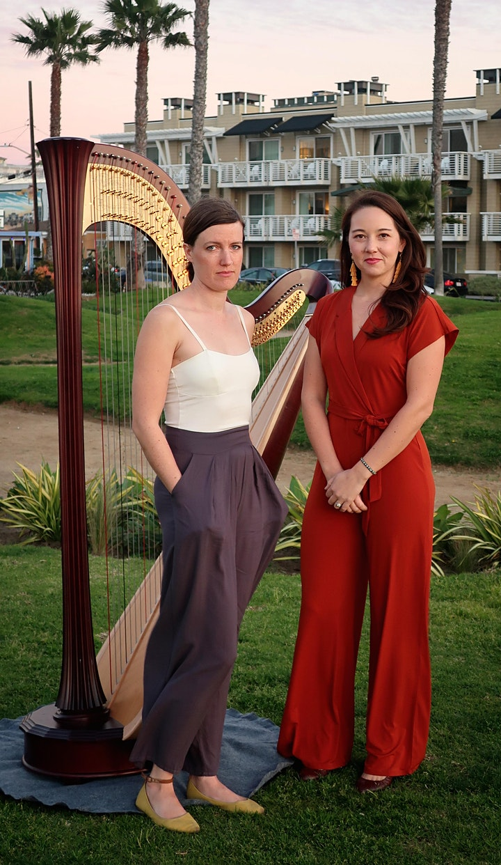 Play Nice - An evening of two harps image