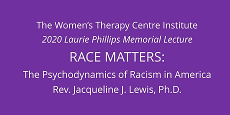 """""""Race Matters"""" - 2020 Laurie Phillips Memorial Lecture tickets"""