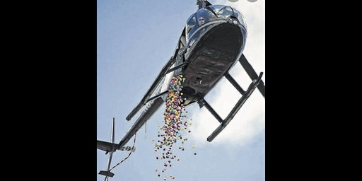 3rd Annual Helicopter Egg Drop on the Ranch