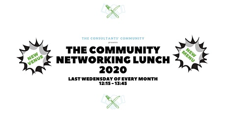 The Community Networking Lunch tickets