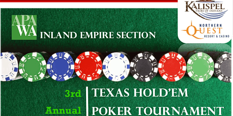 APA Student Scholarship Texas Hold'em Poker Tournament tickets