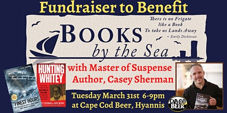 Fundraiser for Books By The Sea w/ Master of Suspense Author Casey Sherman tickets
