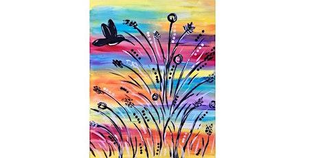 Elsa's On The Border (Wilmington Pike) - Vibrant Hummingbird - Paint Party  tickets
