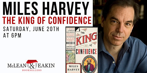 Author Event with Miles Harvey