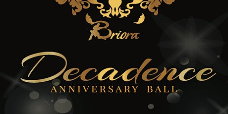 Decadence Anniversary Ball tickets