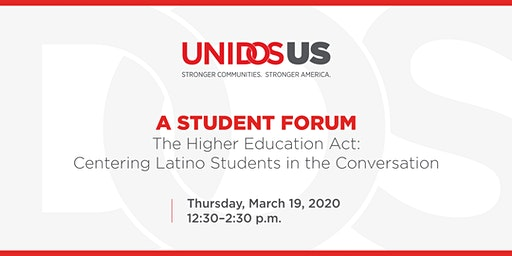 The Higher Education Act: Centering Latino Students in the Conversation