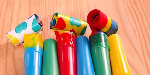 Make Some Noise Story Stomp - School Holidays - Stockton Library