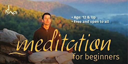 Meditation For Beginners @  Little elm