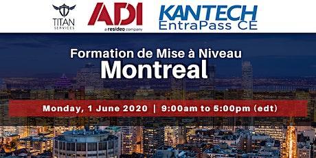 Montreal - Formation de Mise à Niveau billets