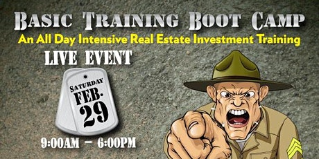 Basic Training Real Estate Boot Camp tickets