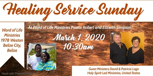 Healing Service in Belize