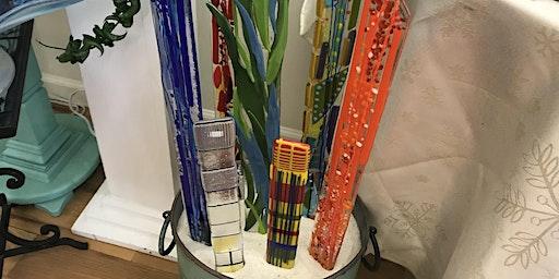 Fused Glass Plant/Garden Stake Workshop