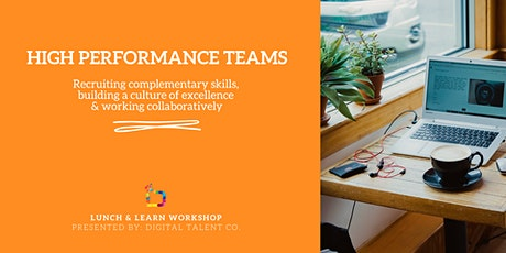 Creating High Performance Teams: Beyond The Buzzwords tickets