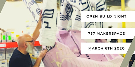 Open Build Night - March 2020 tickets
