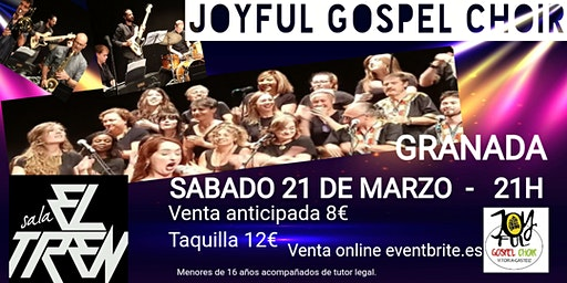Joyful Gospel Choir en concierto