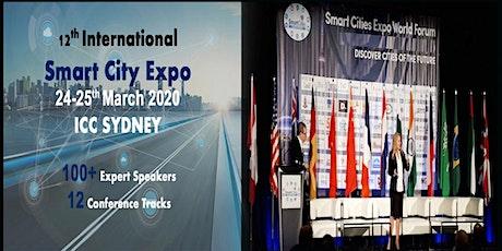 12th International Smart City Expo 2020, ICC Sydney tickets