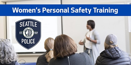 Women's Personal Safety Class- Geared Towards Seniors tickets