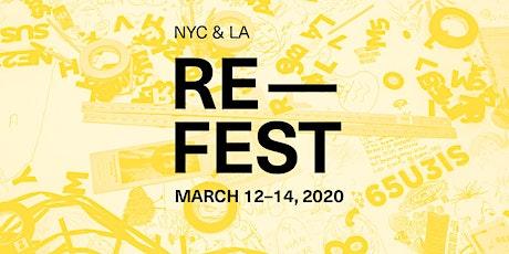 Re-Fest 2020: Thursday @Artcore tickets