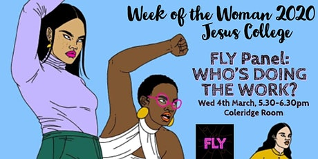 FLY panel: Who's doing the work? tickets