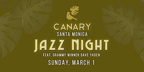 Jazz Night at Canary tickets