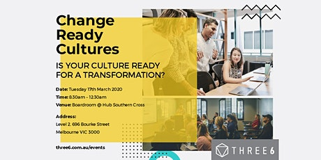 Change Ready Cultures tickets