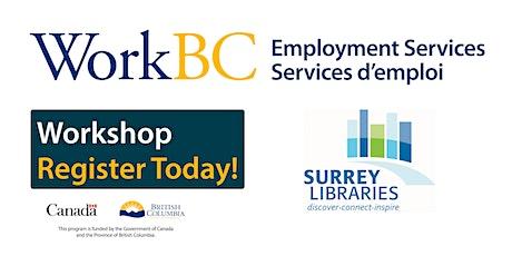 WorkBC Job Search Workshop  tickets